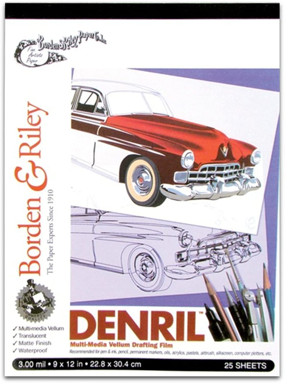 Denril - - - Multi-Media Vellumpapier - 25 Blatt - 23 cm x 28 cm B004O7C56W | Haltbarkeit  | Verpackungsvielfalt  | Fuxin  57a007