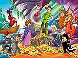Lcyab Rompecabezas Para Adultos Uigsaw Puzzles De 1000 Piezas Para Adultos Peter Pan Póster De Película Juguetes Educativos De Ocio