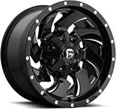 FUEL Cleaver NBL-Gloss BLK MIL Wheel with Painted (20 x 9. inches /8 x 170 mm, 1 mm Offset)