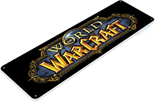 Tinworld Tin Sign World of Warcraft Arcade Pc Game Room Marquee Metal Sign Decor Retro A952