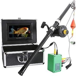 GRXXX Buscador de Peces bajo el Agua HD cámara subacuática de 7 Pulgadas Pantalla LCD de 7 Pulgadas IP68 A Prueba de Agua ...