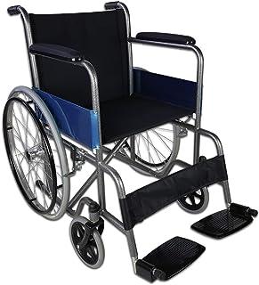 Mobiclinic, Europees Merk, Alcázar model, Opklapbare rolstoel, orthopedisch, gehandicapten, handmatig, handrem, vaste arml...