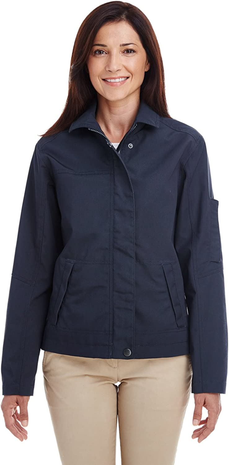 Harriton Womens Auxiliary Canvas M705W Work Jacket New Free Shipping Max 62% OFF