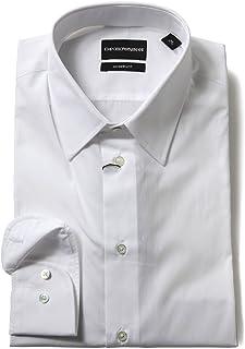 (エンポリオアルマーニ イーエーセブン エアセッテ) EMPORIO ARMANI EA7 コットン100% シンプル 長袖 ドレスシャツ [EAW1CM5LW11F1] [並行輸入品]