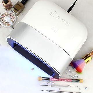 YJF-GLJ 48W Gel Nail Lamp UV LED Secadora con 3 ajustes de Temporizador para uñas y uñas de los pies, curado de Esmalte de Gel con Sensor de Encendido/Apagado automático en el hogar y el salón