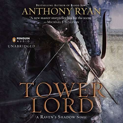 Tower Lord     Raven's Shadow, Book 2              By:                                                                                                                                 Anthony Ryan                               Narrated by:                                                                                                                                 Steven Brand                      Length: 24 hrs and 39 mins     1 rating     Overall 5.0