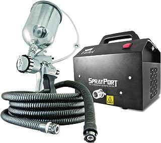 Earlex 0HV6003GUS Spray Port with Gravity Feed Pro 8 Spray Gun, 3-Stage Turbine