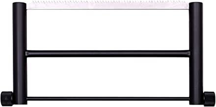 ZQO Sierra De Mano Plegable Portátil, Mini Herramientas De Corte De Madera Aleación De Aluminio Arco De Mano Jab Rip Poda Sierras De Mano Cortador para Acampar Jardín Carpintería