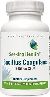 Bacillus Coagulans   3 Billion CFU   60 Acid-Resistant Vegetarian Capsules   Seeking Health