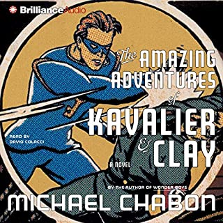The Amazing Adventures of Kavalier & Clay audiobook cover art