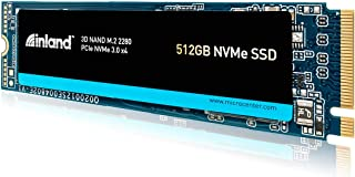 Inland Premium 512GB 3D NAND M.2 2280 PCIe NVMe 3.0 x4 内蔵ソリッドステートドライブ