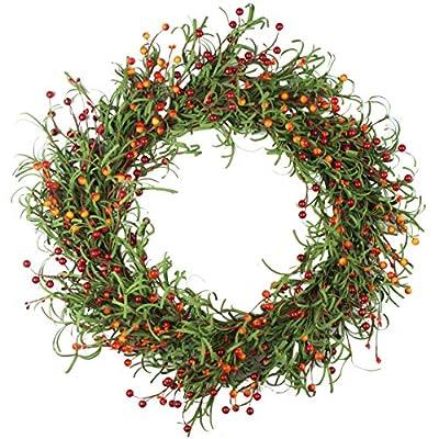 Emlyn Large Blooming Peonies Hydrangea Wreath Door Wreath - Handcrafted Wreath for Home Wall Decor