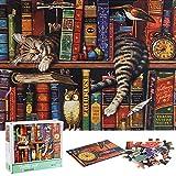 Puzzle Redondo 1000 Piezas,Puzzle,Rompecabezas Redondo,Puzzle Creativo,Puzzle Adultos,Rompecabezas,Rompecabezas Puzzle Adultos,Puzzle Grandes Adultos,Puzzle El Alivio del Estrés (C)