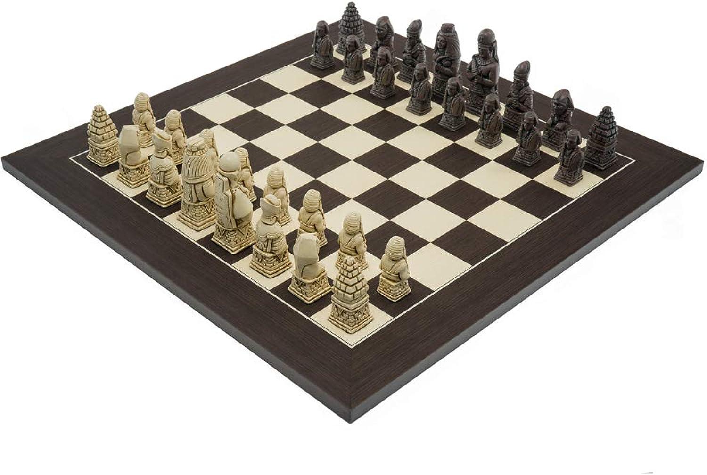 productos creativos The Berkeley AJEDREZ Egyptian Russet y wengué Juego de ajedrez ajedrez ajedrez  Todos los productos obtienen hasta un 34% de descuento.