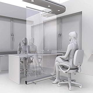 TOPNIU Séance autonome Speeeze Speeeze Guard Protecteur Écran d'hygiène transparente, bouclier de distanciation sociale, d...