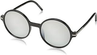 نظارة شمسية مارك للرجال من مارك باي مارك 48/S GY D28 52، أسود لامع/رمادي أخضر اس ال في اس بي جي)