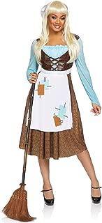 Women's 2 Pc Peasant Cinderella Costume