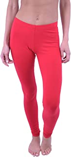 Vivian's Fashions Extra Long Leggings - Cotton (Misses and Misses Plus Sizes)