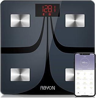 ارتقاء 2019 - بلوتوث هوشمند وزن فلس دیجیتال وزن و بدن چربی مانیتور - در عمق 11 تجزیه و تحلیل ترکیب بدن بدن با iOS و آندروید APP - ایده آل برای مرمت بدن و یا تناسب اندام سفر