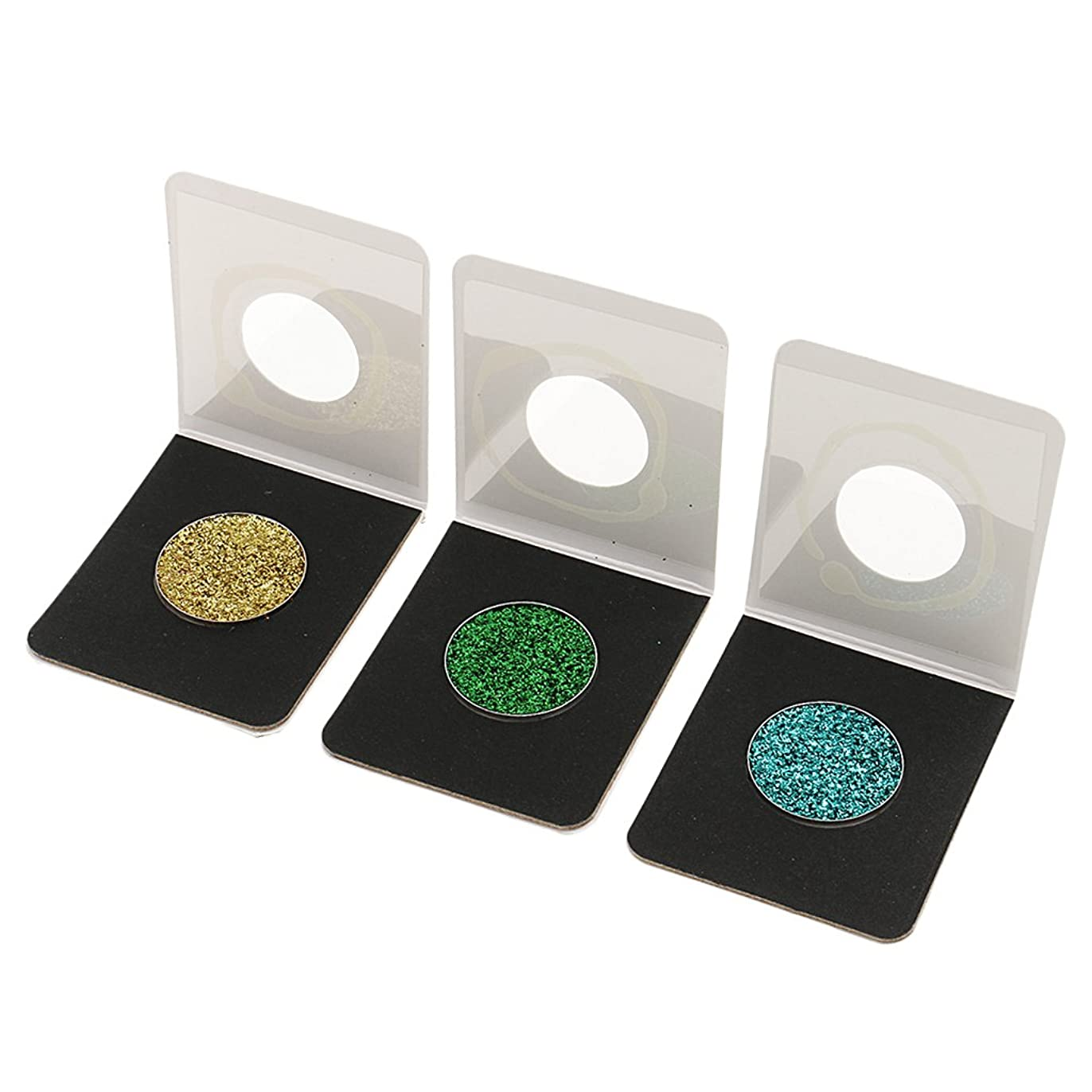 リマ受ける印象Kesoto 3色セット キラキラ アイシャドウ ピグメント アイシャドー ダイヤモンド シマー ルーズパウダー ピグメントパレット 全6仕様選べる - 13-15