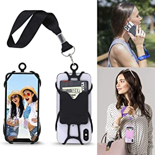 Cell Phone Wrist Strap Mobile Phone Holder Wristlet with Card Pocket Compatible with iPhone, Galaxy & Most Smartphones by Gear Beast