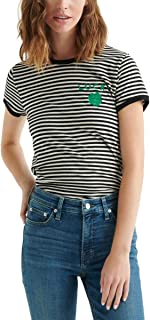 Lucky Brand womens ST. PATRICK'S STRIPE TEE T-Shirt