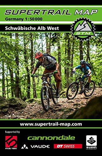 Supertrail Map Schwäbische Alb West: Maßstab 1:50.000