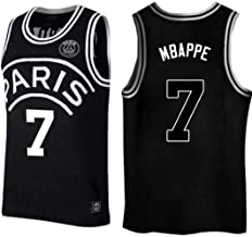 Kylian Mbappe,Basketball Jersey,PSG, New Fabric Embroidered,Swag Sportswear