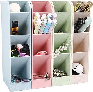 Xinzistar Organizador de escritorio para bolígrafos para oficina escuela escritorio caja de almacenamiento organizado...