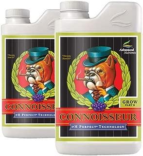 Advanced Nutrients 1680-14AB pH Perfect Connoisseur Grow Part A+B Soil Amendments, 1 L Fertilizer, 1 Liter