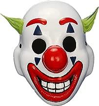 2019 Movie Joker Arthur Fleck Cosplay Mask Clown Horror Halloween Masks (Half face)
