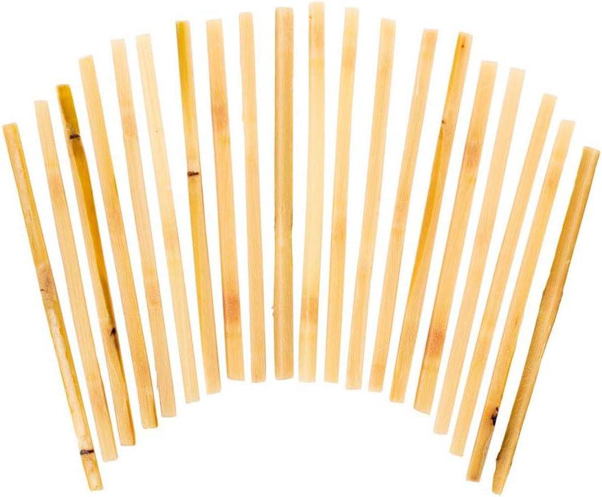 Raw Weekly update Sugar Cane Swizzle Sticks of Pack 20 Mesa Mall -