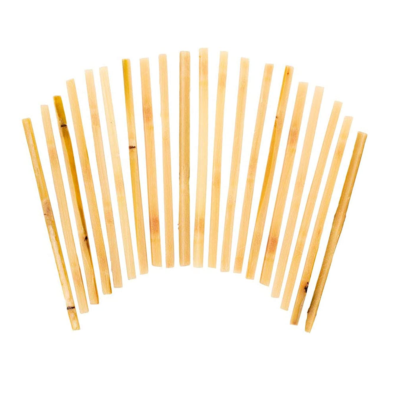 Raw Sugar Cane Swizzle Sticks - Pack of 20