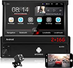 Sponsored Ad - CAMECHO 7 inch Single Din Android Car Stereo with Bluetooth [2G+16G] Flip out Touchscreen Radio with Detach... photo