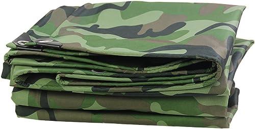 Épaisseurs Baches de Camouflage, Couverture de remorque de Tente au Sol imperméable et résistante, Grande bache en Plusieurs Tailles, 420G   M2 (Couleur   Woodland Camo, Taille   5x7m)
