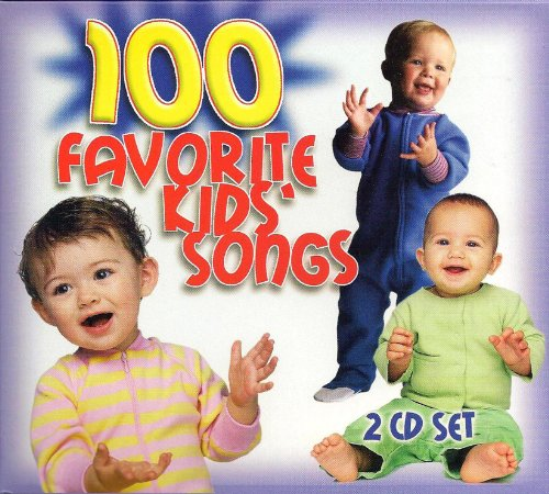 Price comparison product image 100 Favorite Kids Songs -2CD