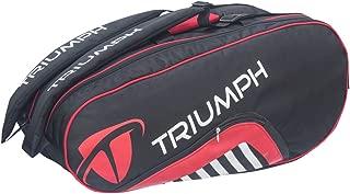Triumph Pro-404 TOP Spin Double Compartment Tennis Kit Bag (6 Racquet Kit Bag)