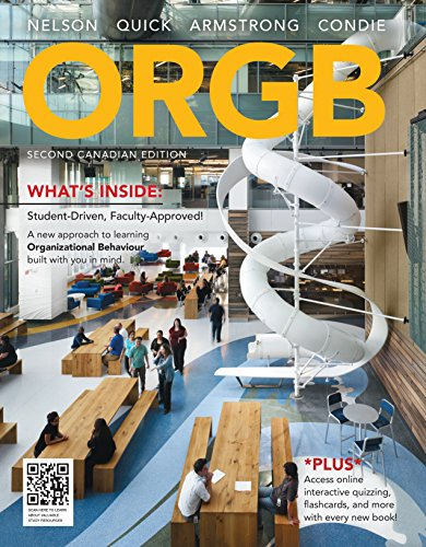 Package: ORGB, Second Canadian Edition + CourseMate Printed Access Card (12 Months), 2nd Edition