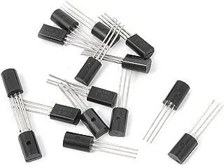 Aexit Lot de 6 5 V 1 A 3 broches Bornes 7805 Positive R/égulateur de Tension TO-220 161G572
