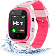 4G Kids Smart Watch,Kids Phone Smartwatch w GPS Tracker Waterproof,Alarm,Pedometer,Camera,SOS,Touch Screen WiFi Bluetooth ...