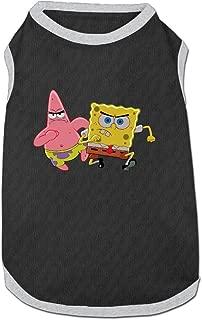 Spongebob Squarepants Pet Dog 100% Fleece Vest Clothes Ash