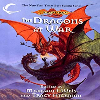 The Dragons at War audiobook cover art