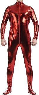 red mens unitard