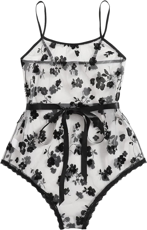 xoxing Women's Lingerie Plus Size Sleepwear Sexy Intimates Underwear Pajamas Chemise Halter Nightwear Tank Tops (U)