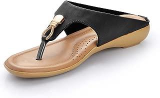 Footsoul Women's Slipper (Black) (FSL-27)
