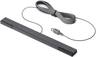 Nintendo Sensor Bar Black Wired Official RVL-014 For Wii (Renewed)