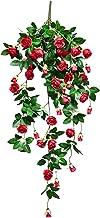 Kunstmatige Wijnstokbloemen, Simulatie Roos Hangende Wijnstok Bloem, voor Bruiloft Thuis Kantoor Buiten Feestdecoratie Rus...