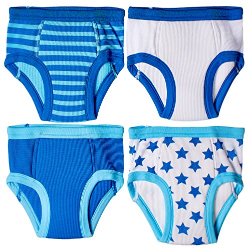 Trimfit Little Boys Cotton Training Pants (Pack of 4 Kids Underwear)