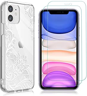 """Yoedge Case for OPPO A92 4G 6.5"""" with 2 Pack Screen Protector,HD Transparent Tempered Film Screen Protector Transparent So..."""
