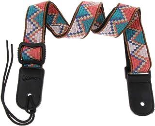 SDENSHI - Cinturón ajustable estilo bohemio para ukelele, cómodo, Multicolor C.
